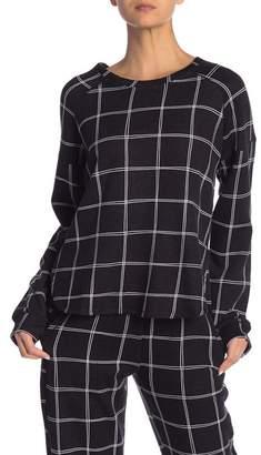 Kensie Long Sleeve PJ Top