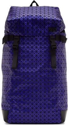 Bao Bao Issey Miyake Navy Metallic Hiker Backpack