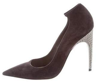 Christian Dior Leather Semi Pointed-Toe Pumps discount codes shopping online x53Zc