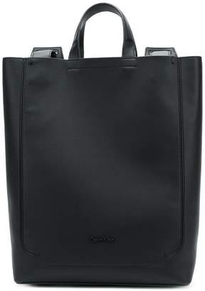 Calvin Klein minimalist oversized backpack