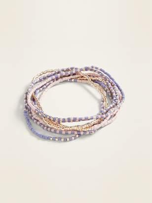 Old Navy Beaded Multi-Strand Stretch Bracelet for Women