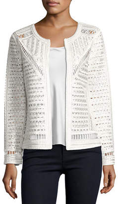 Berek Crochet Topper Jacket, Petite