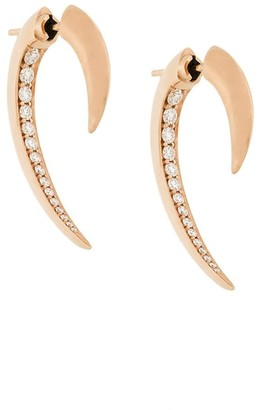 Shaun Leane 18kt gold Hook diamond earrings