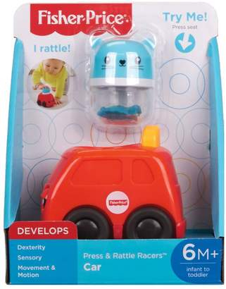 Fisher-Price Press Rattle Racers Car FNV39
