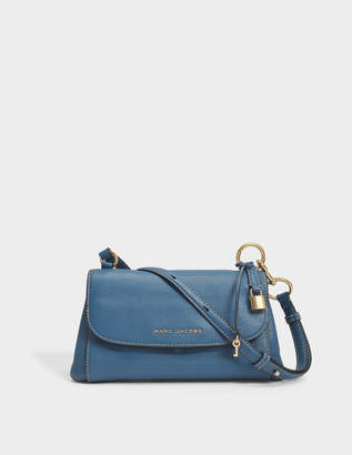 Marc Jacobs Boho Grind Crossbody Bag in Vintage Blue Cow Leather