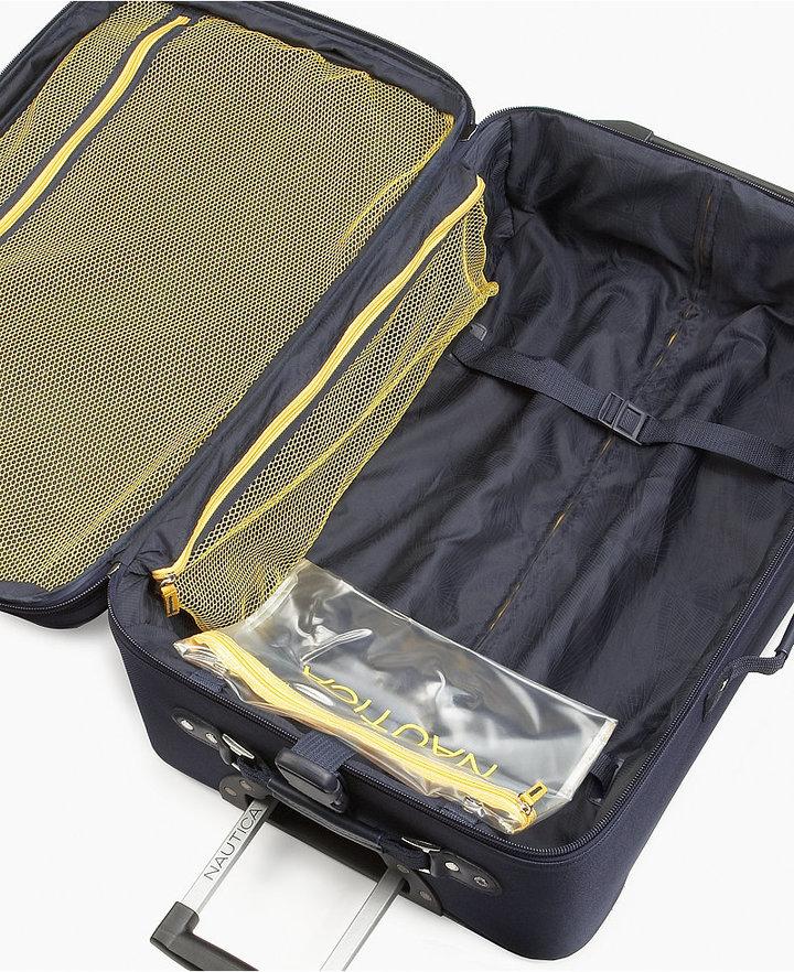 Nautica Shoreline 5 Piece Luggage Set