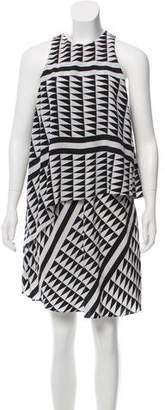 Edun Sleeveless Printed Dress