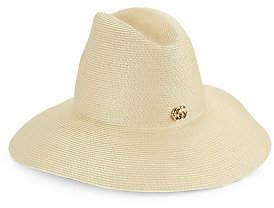 5b4a6f92008 Gucci Women s Wide Brim Papier Hat