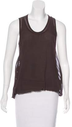 Gianfranco Ferre Sleeveless Layered Top