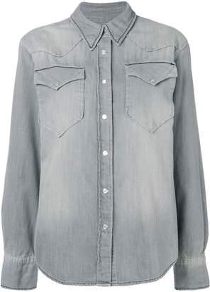 Etoile Isabel Marant long-sleeve fitted shirt