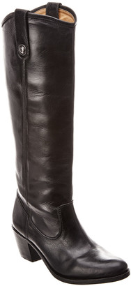 Frye Jackie Button Leather Boot
