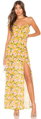 superdown Lorie Slit Maxi Dress