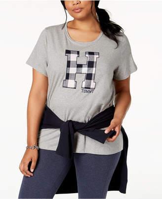 Tommy Hilfiger Plus Size Applique T-Shirt