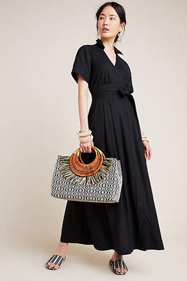 Maeve Janae Maxi Shirtdress