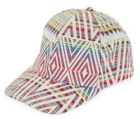 Collection 18 Woven Baseball Cap