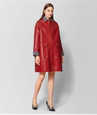 Bottega Veneta Multicolor Glossy Wool Coat