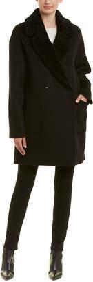 Trina Turk Dawn Wool-Blend Coat