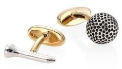 Paul SmithPaul Smith Two-Tone Golf Cufflinks