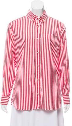 Isabel Marant Striped Button-Up Top
