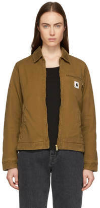 Carhartt Work In Progress Brown Detroit Jacket
