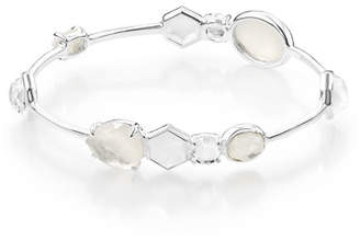 Ippolita 925 Rock Candy 10-Stone Bangle Bracelet in Flirt