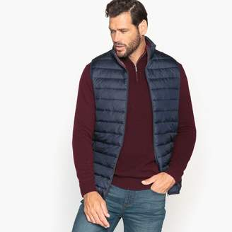Puffa CASTALUNA MEN'S BIG & TALL Mid-Season Short Padded Bodywarmer With Mandarin Collar, Plus Size