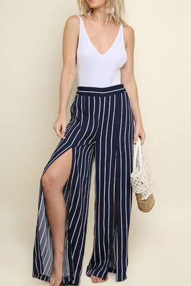 Umgee USA Striped Wide Pant