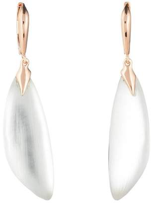 Alexis Bittar Curved Capped Leverback Earring