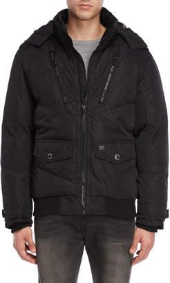 ProjekRaw Projek Raw Hooded Puffer Coat