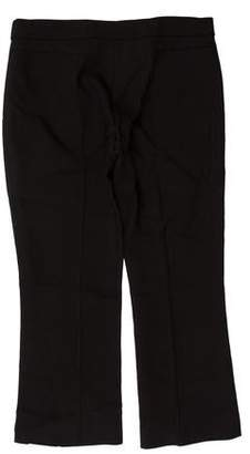 Rochas Mid-Rise Cropped Pants
