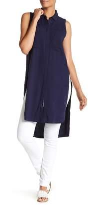 Catherine Malandrino Utility Sleeveless Tunic