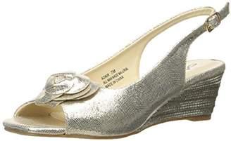 Annie Shoes Women's Adair Espadrille Wedge Sandal $9.47 thestylecure.com