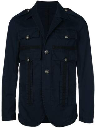 DSQUARED2 button-down fitted jacket