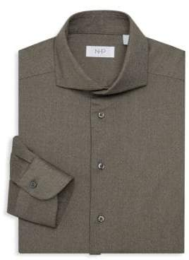 Trim-Fit Fancy Dress Shirt