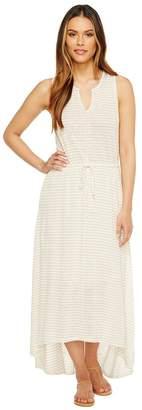 Heather Grace Linen Grecian Maxi Dress Women's Dress