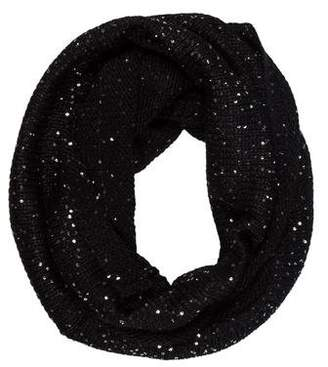 Calvin Klein Sequin-Embellished Infinity Scarf w/ Tags