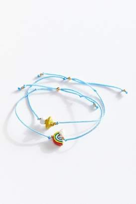 Venessa Arizaga Rainbow Mushroom Bracelet Set