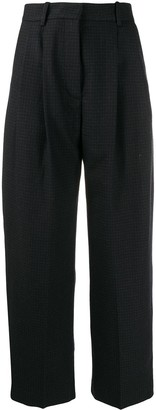 Wood Wood Sunna check trousers