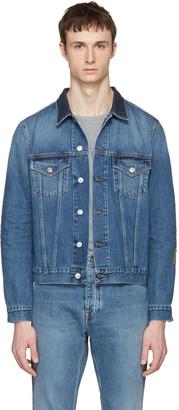 Acne Studios Indigo Denim Who Jacket $410 thestylecure.com