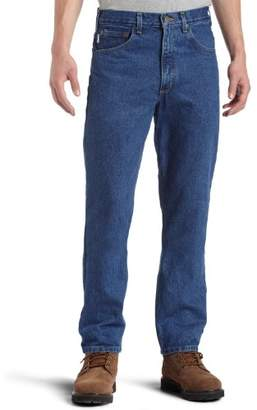 Carhartt Men's Traditional Fit Five Pocket Tapered Leg Jean B18
