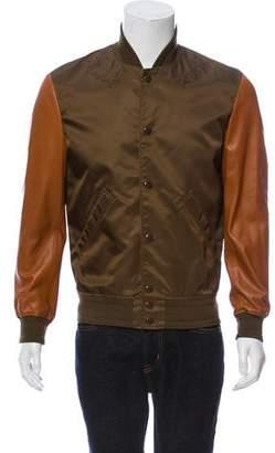 Givenchy Two-Tone Bomber Jacket