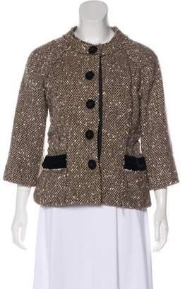 Marc Jacobs Three-Quarter Tweed Jacket