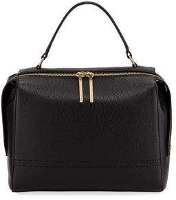 Milly Astor Large Leather Satchel Bag