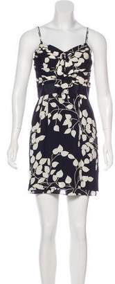 Tory Burch Bow-Accented Mini Dress