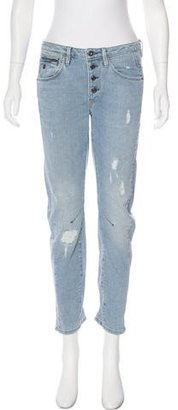 G-Star RAW Mid-Rise Distressed Jeans w/ Tags