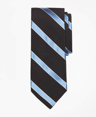Brooks Brothers Mogador Framed Stripe Tie