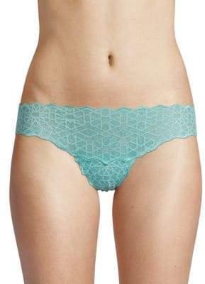 Cosabella Sweet Treats Star Lace Thong
