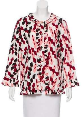 Marni Printed Lightweight Jacket