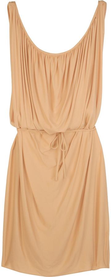 Alberta Ferretti Grecian jersey dress