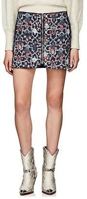 Etoile Isabel Marant Women's Marily Reversible Linen Miniskirt